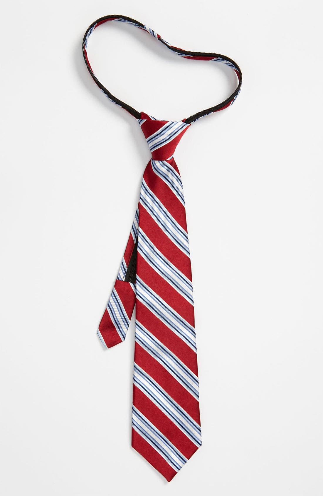 Main Image - Nordstrom Zipper Tie (Little Boys)