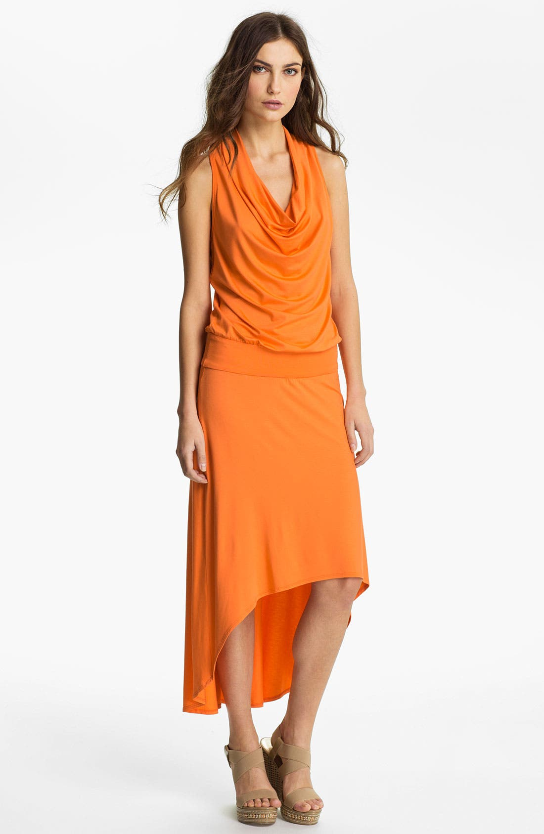 Alternate Image 1 Selected - Trina Turk 'Raissa' High/Low Maxi Dress