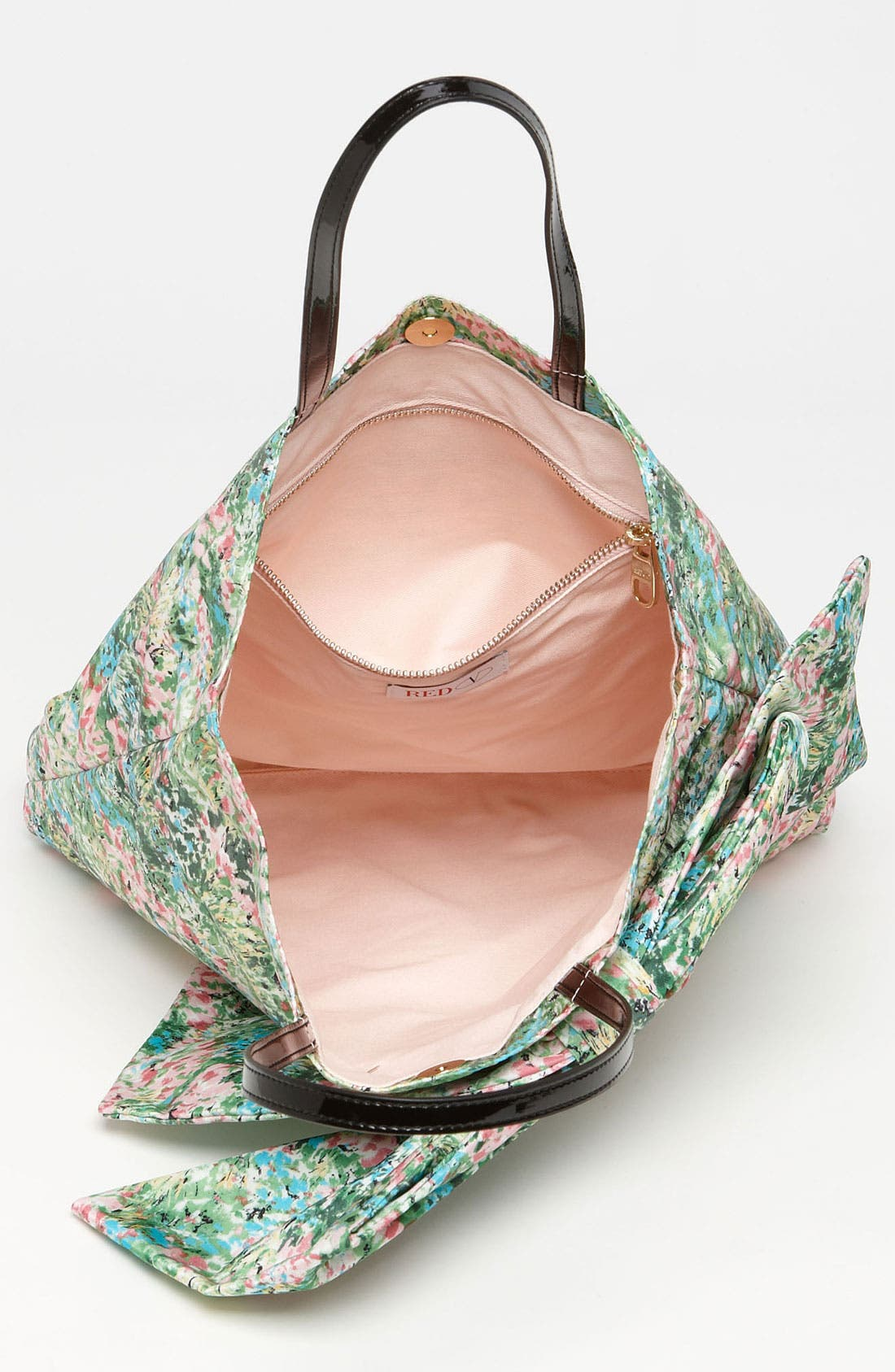 Alternate Image 3  - RED Valentino 'Meadow Print' Bow Tote