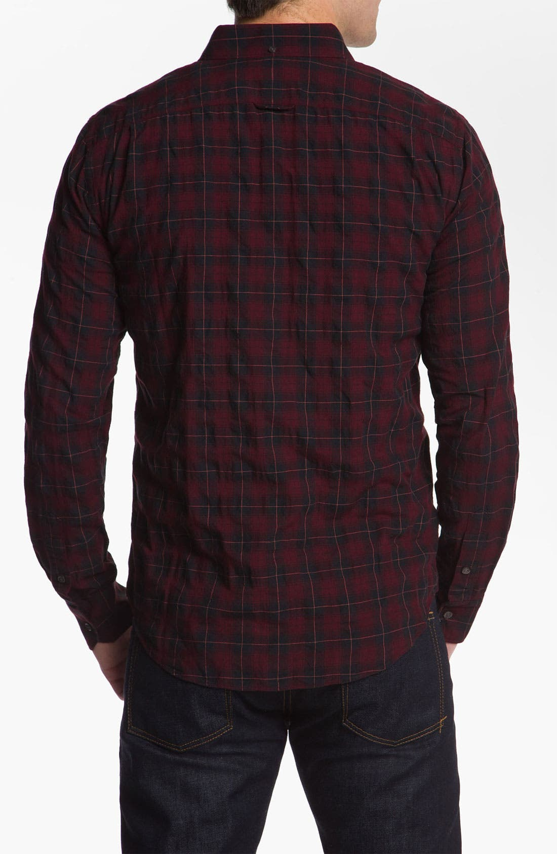 Alternate Image 2  - Vince Plaid Woven Shirt