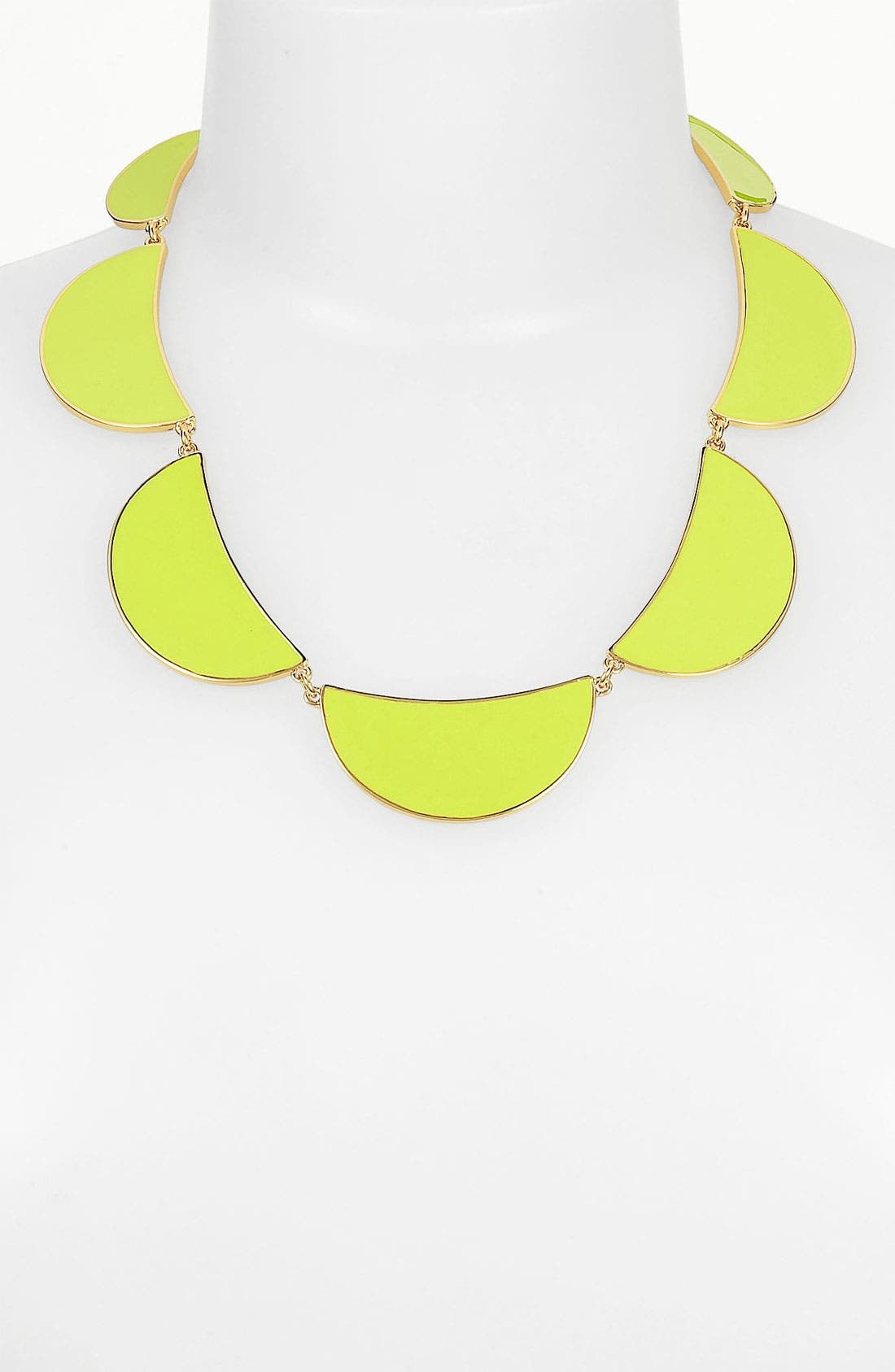 Main Image - kate spade new york 'scallop' frontal necklace