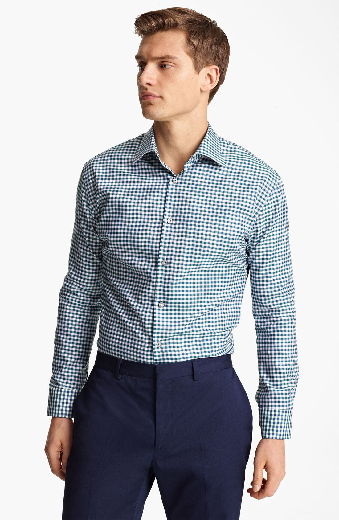 Alternate Image 1 Selected - Paul Smith London Gingham Shirt
