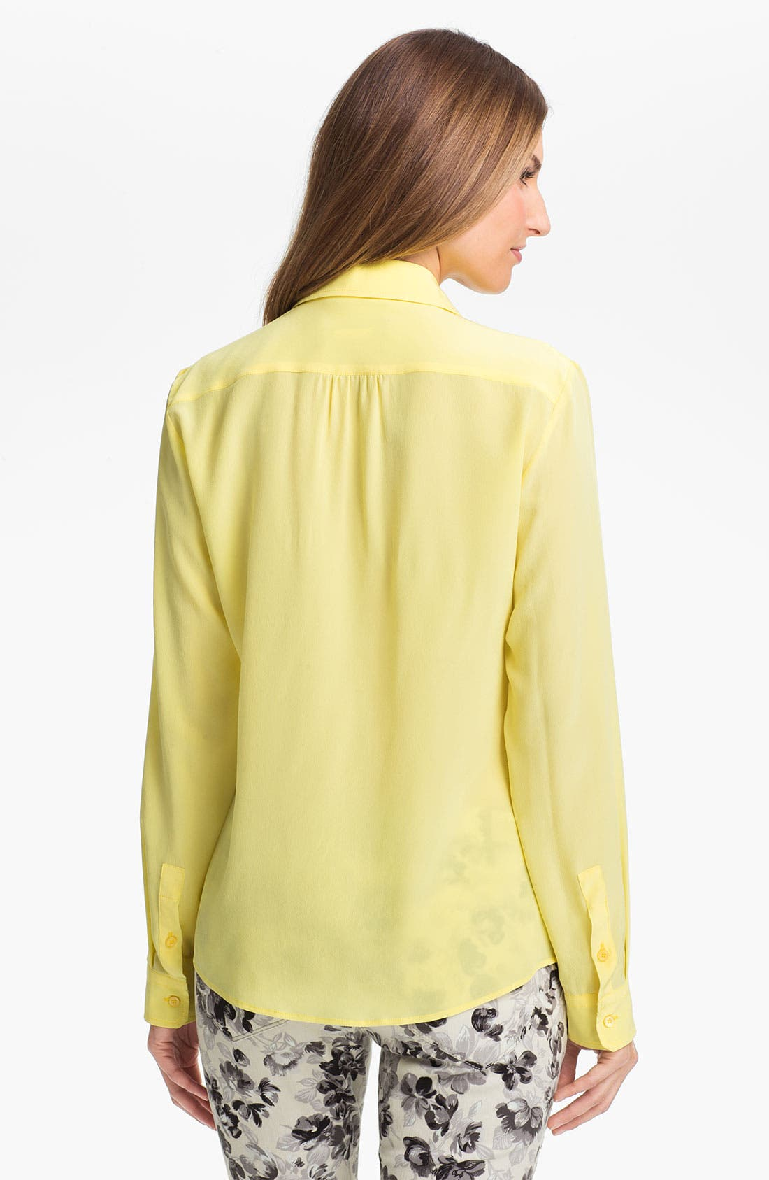 Alternate Image 2  - Max Mara 'Udito' Silk Shirt