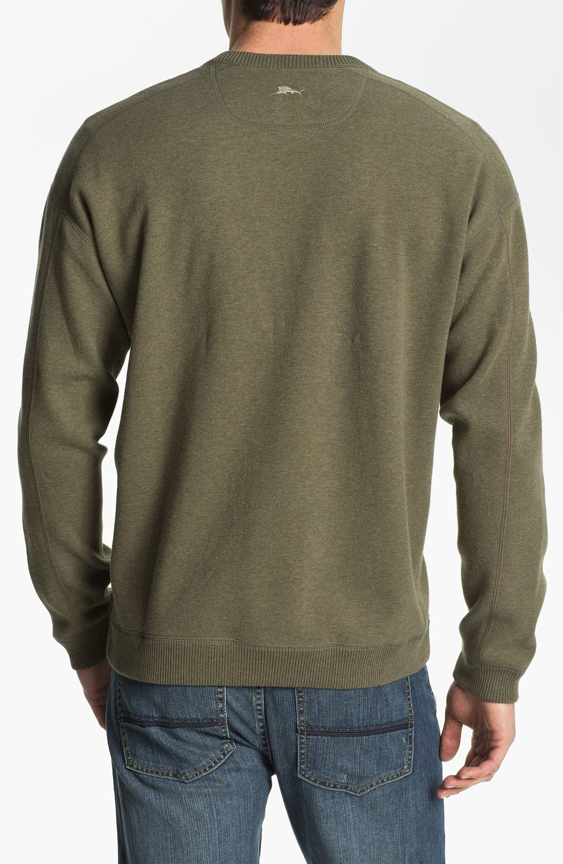 Alternate Image 4  - Tommy Bahama 'Flip Side Pro' Fleece V-Neck Sweatshirt (Big & Tall)