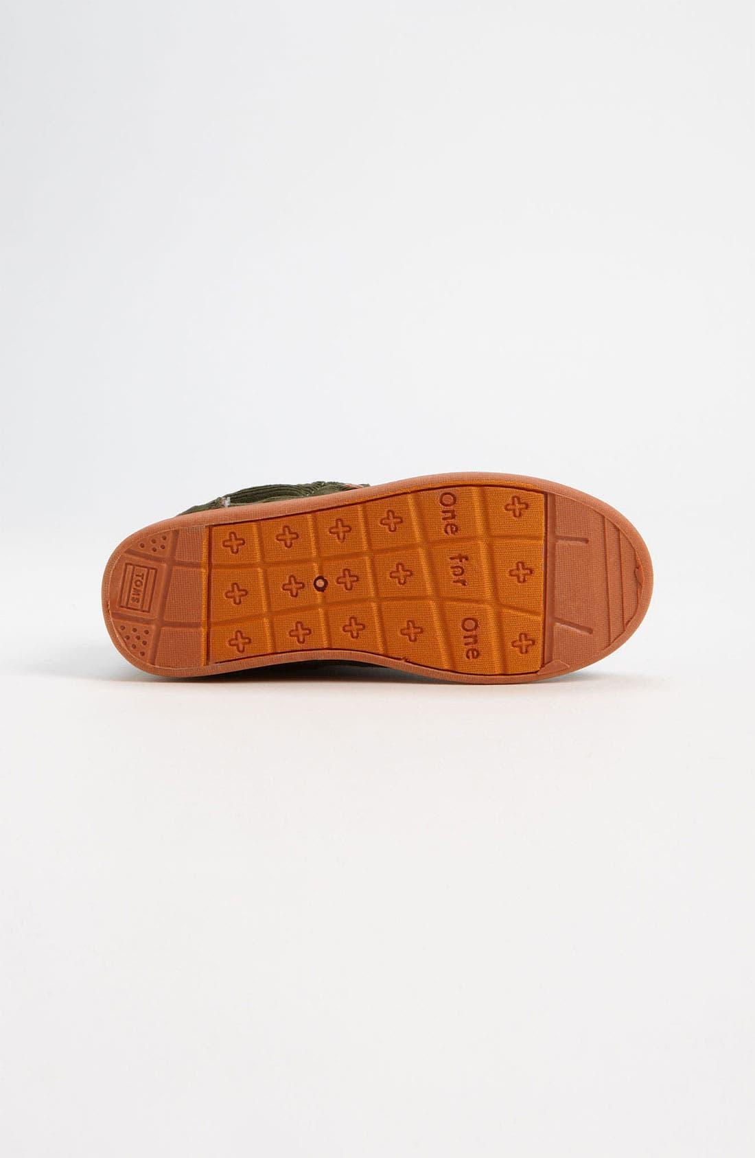 Alternate Image 4  - TOMS 'Botas' Corduroy Boot (Baby, Walker & Toddler)