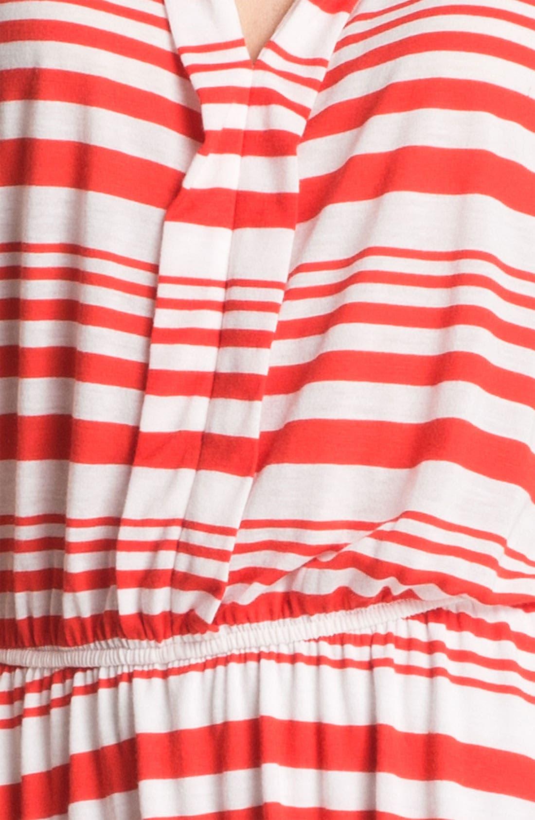 Alternate Image 3  - Pleione Split Neck Sleeveless Dress