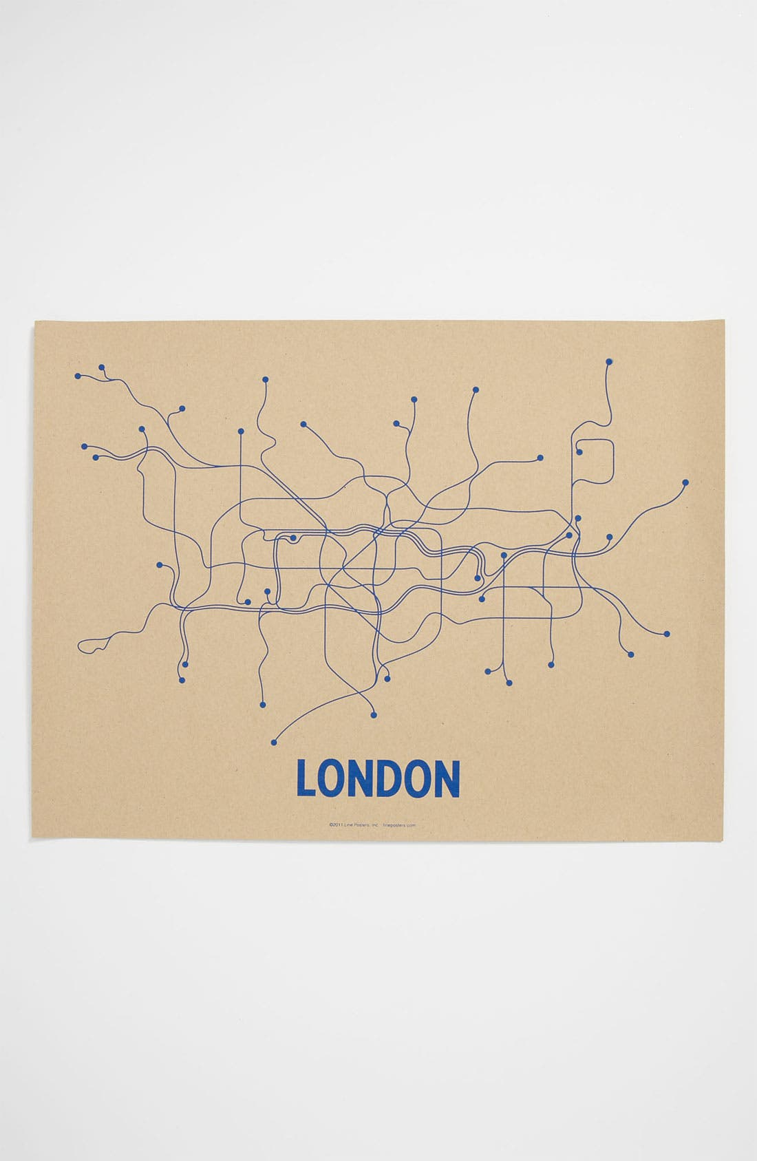 Alternate Image 1 Selected - Line Posters 'London Transit System' Print