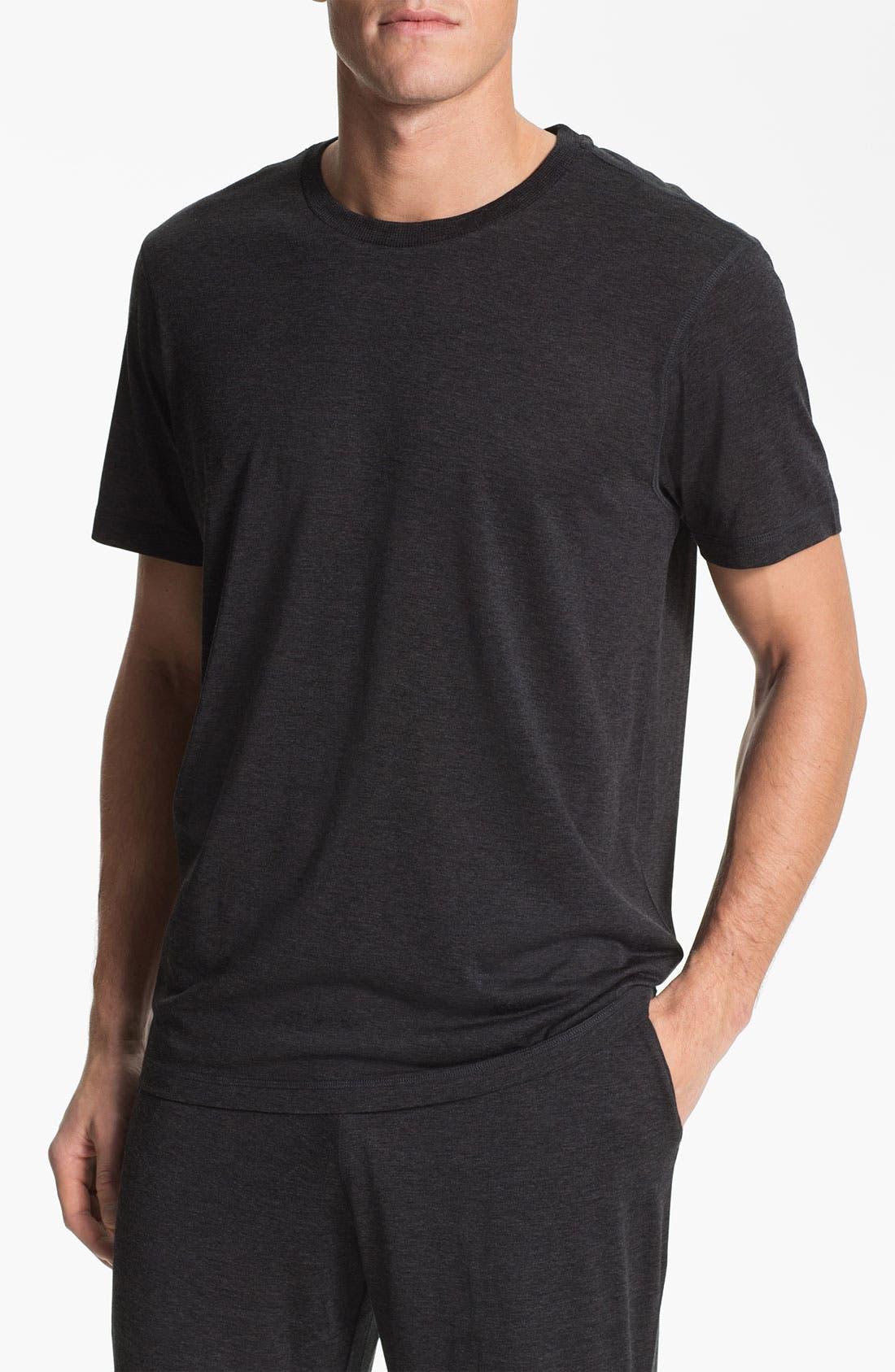 Alternate Image 1 Selected - Daniel Buchler Silk & Cotton T-Shirt