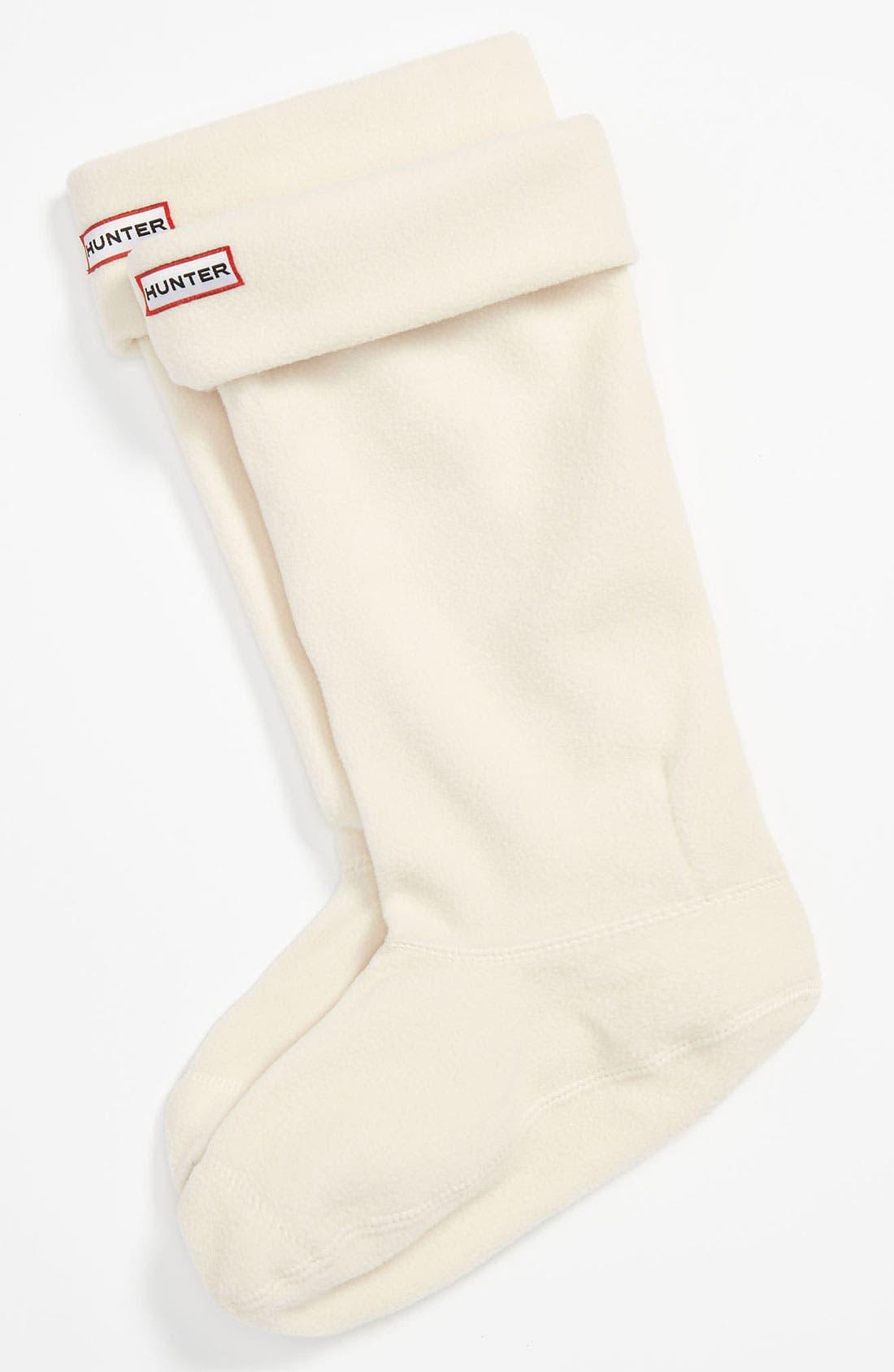 Alternate Image 1 Selected - Hunter 'Tour' Packable Rain Boot, Fleece Welly Socks & Boot Buffer Spray