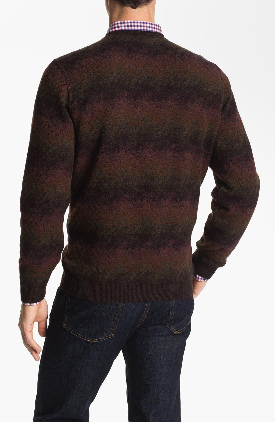 Alternate Image 2  - Lenor Romano V-Neck Wool Sweater