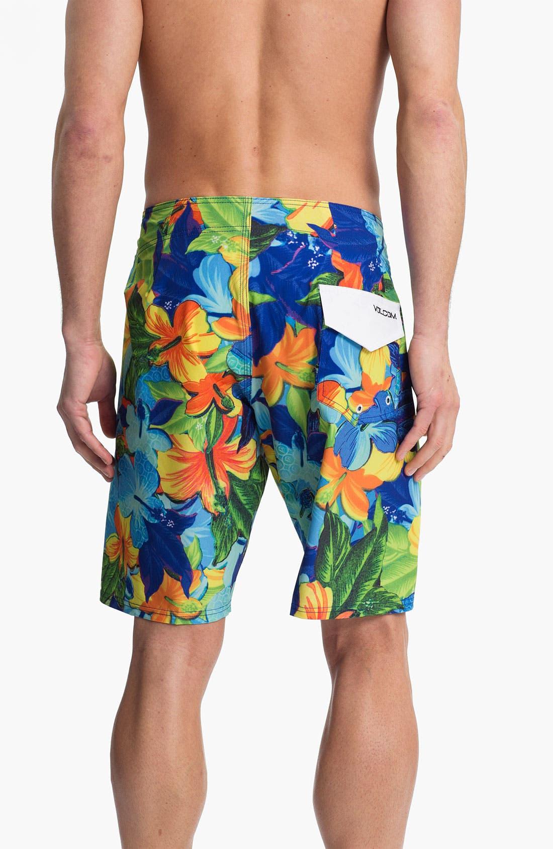 Alternate Image 2  - Volcom 'Floral Fun' Board Shorts