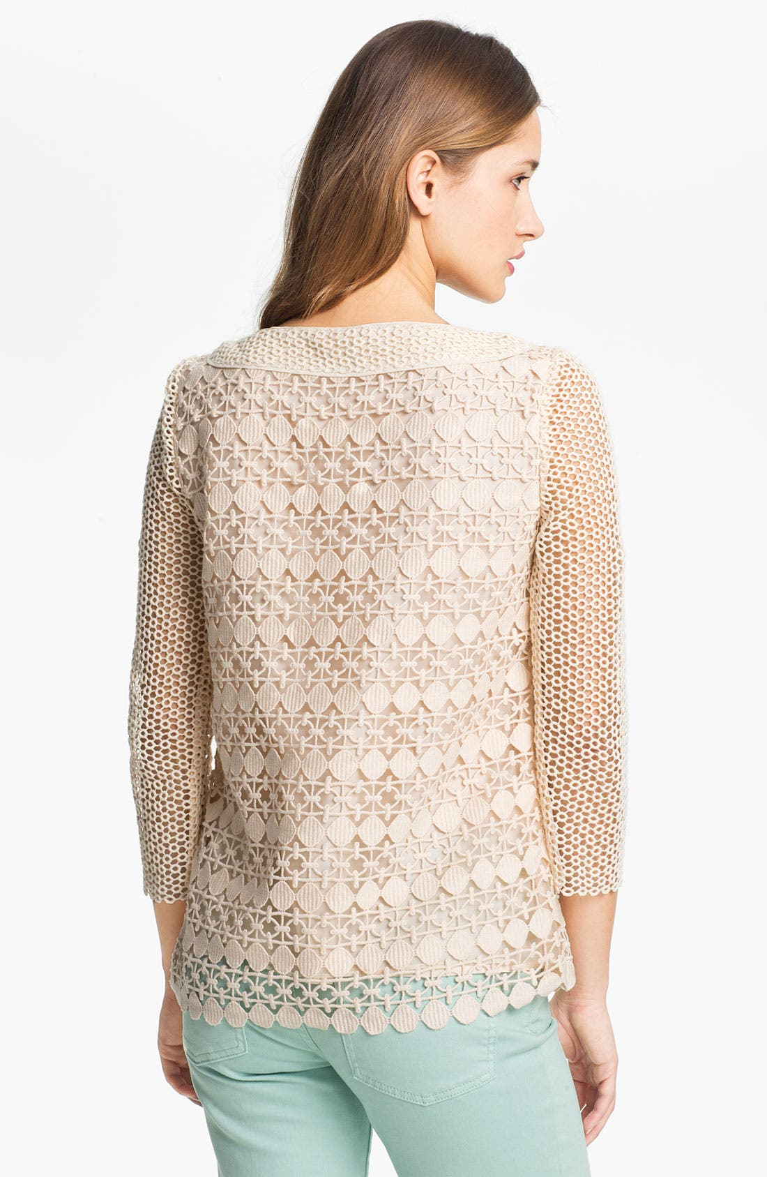 Alternate Image 2  - Tory Burch Lace Top