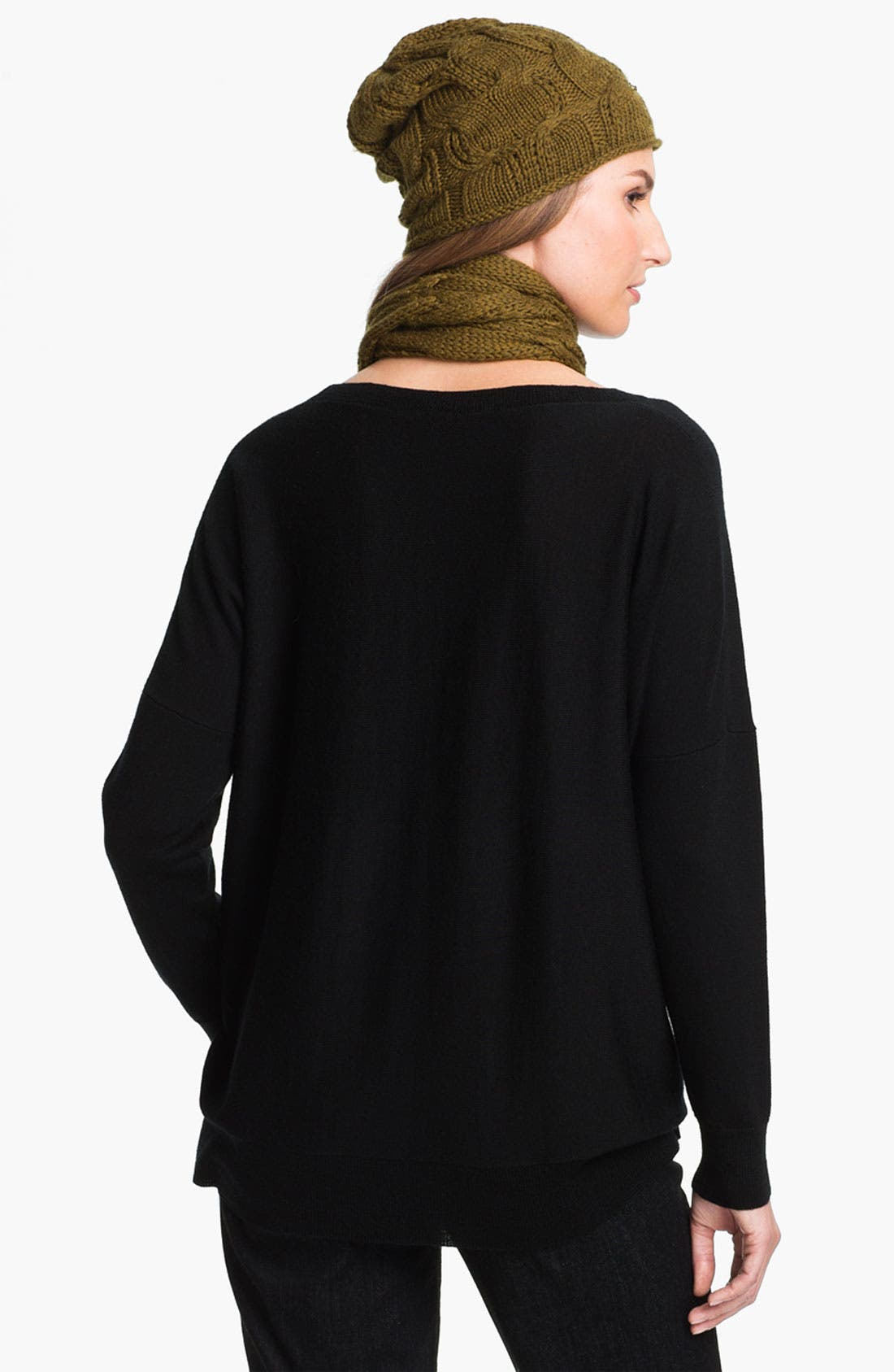 Alternate Image 2  - Eileen Fisher Merino Cap (Online Exclusive)