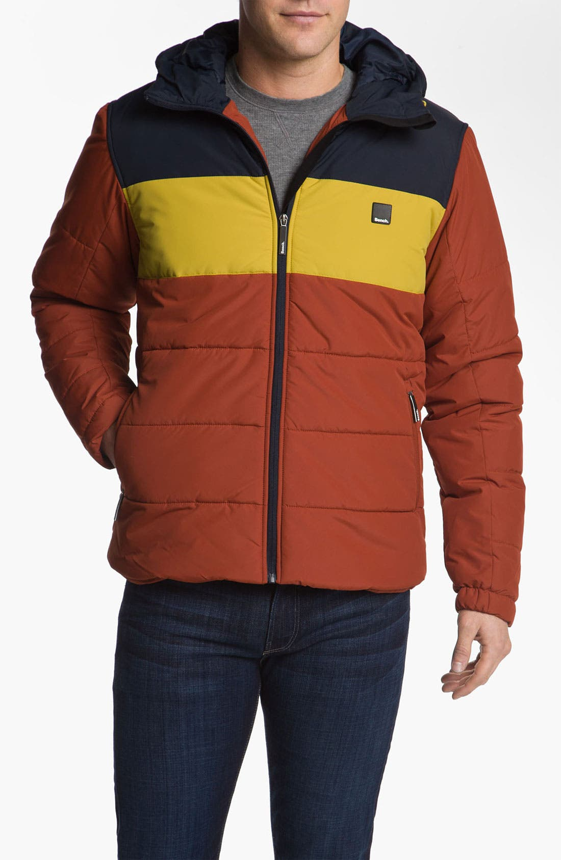 Alternate Image 1 Selected - Bench. 'XOK' Quilted Jacket