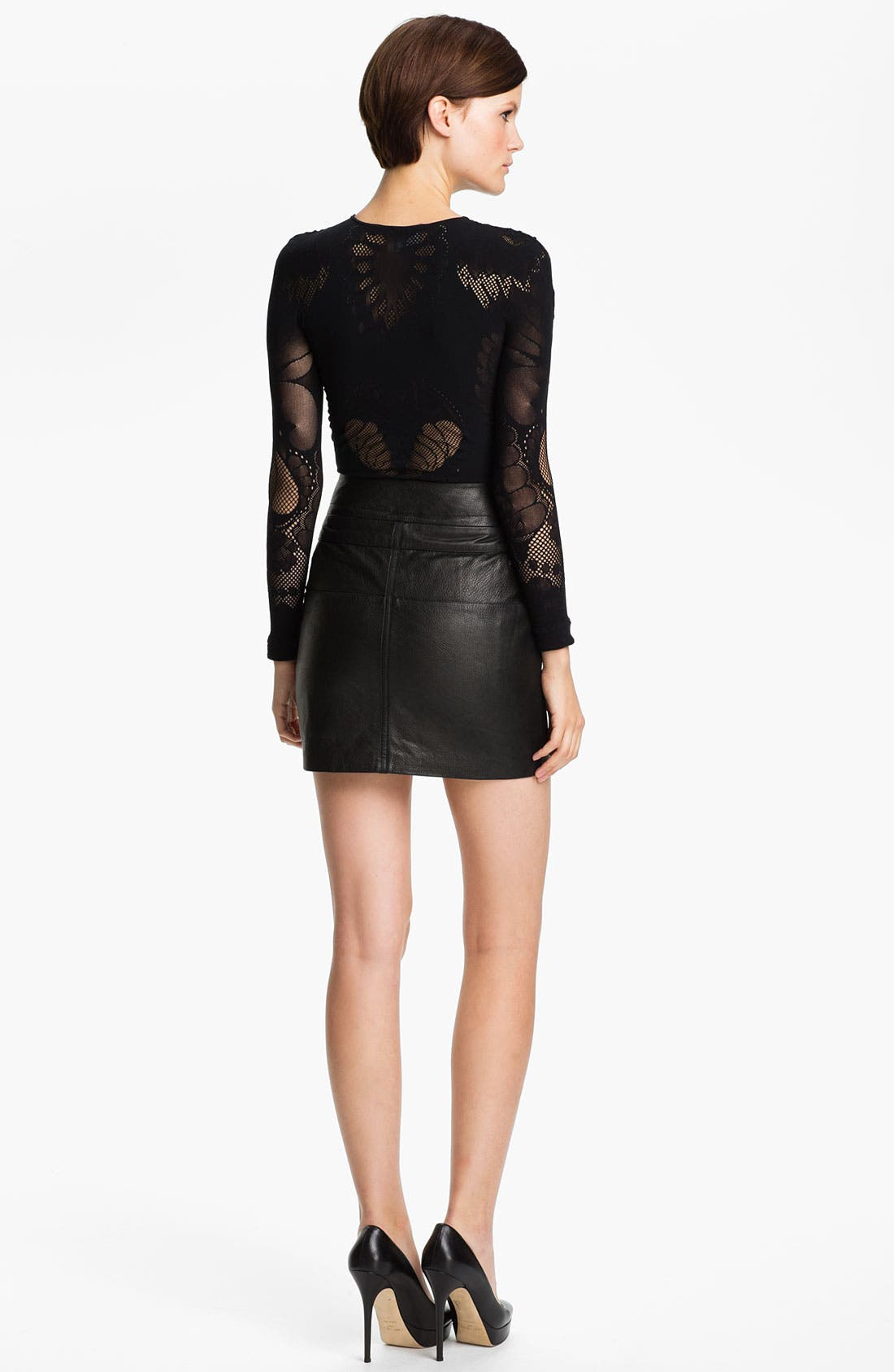 Alternate Image 2  - McQ by Alexander McQueen Mesh Top