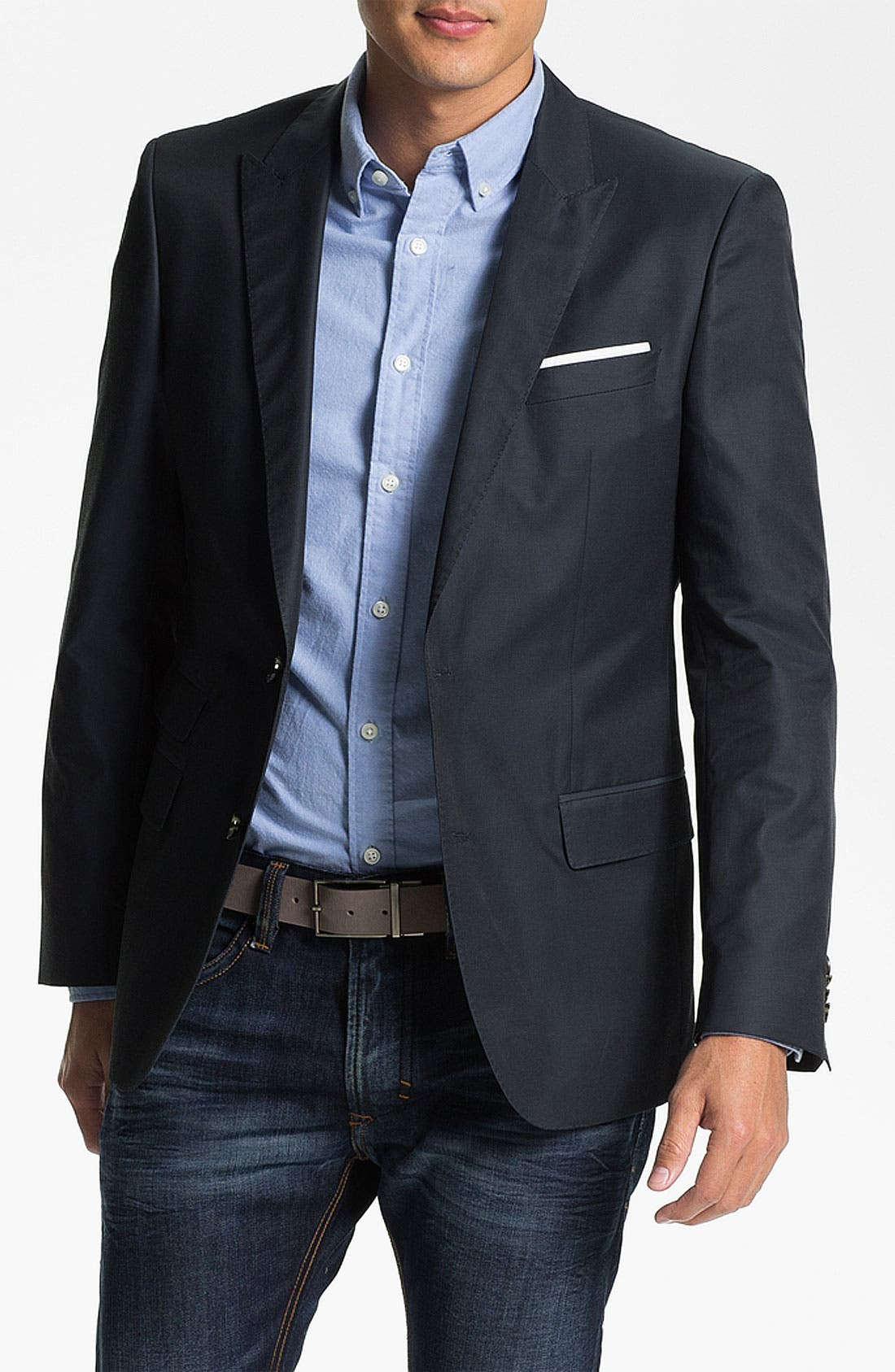 Alternate Image 1 Selected - BOSS HUGO BOSS 'Hold' Trim Fit Blazer