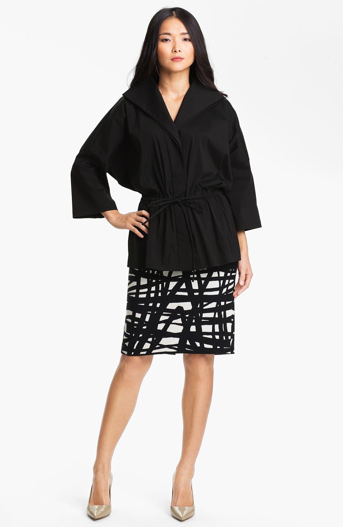 Alternate Image 4  - Lafayette 148 New York 'Profound Stroke' Print Skirt