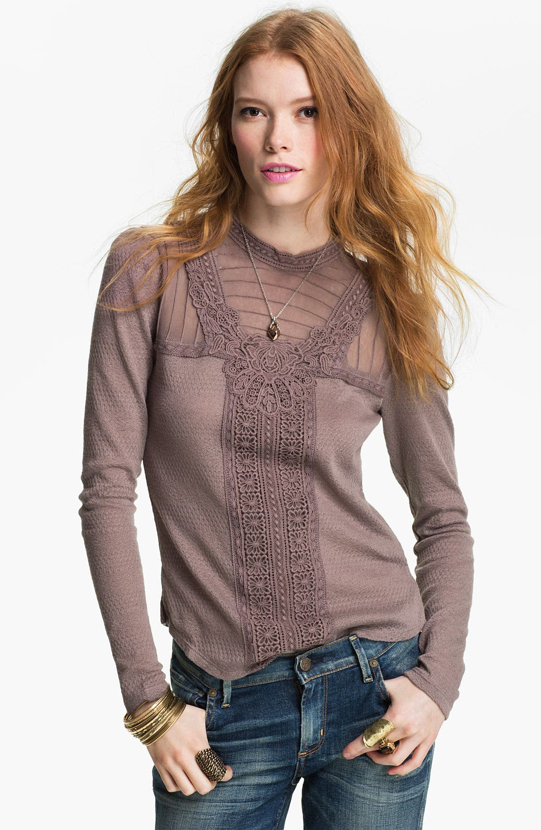 Main Image - Free People 'Victorian Romance' Top