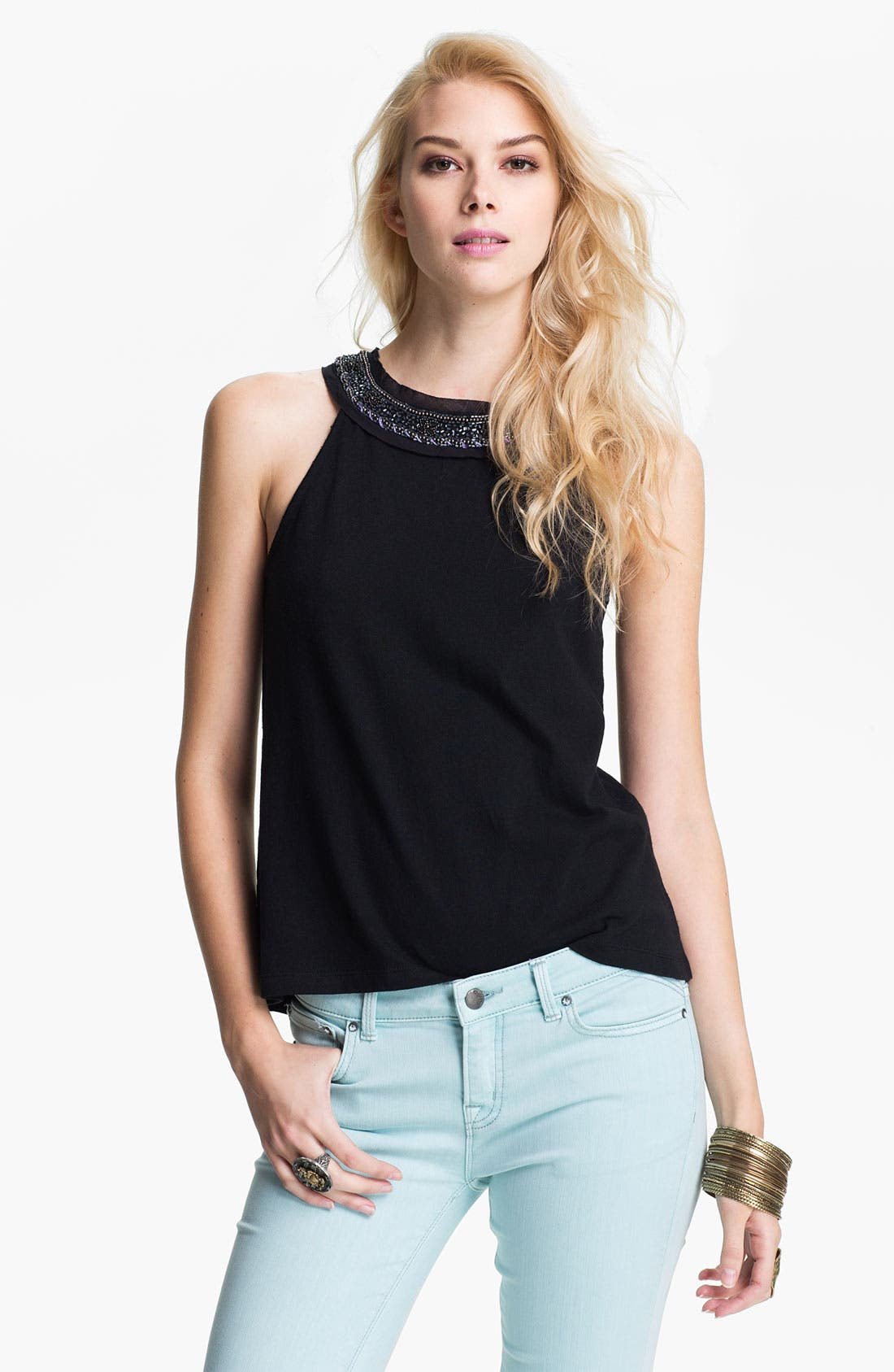 Main Image - Free People Ombré Necklace Tank
