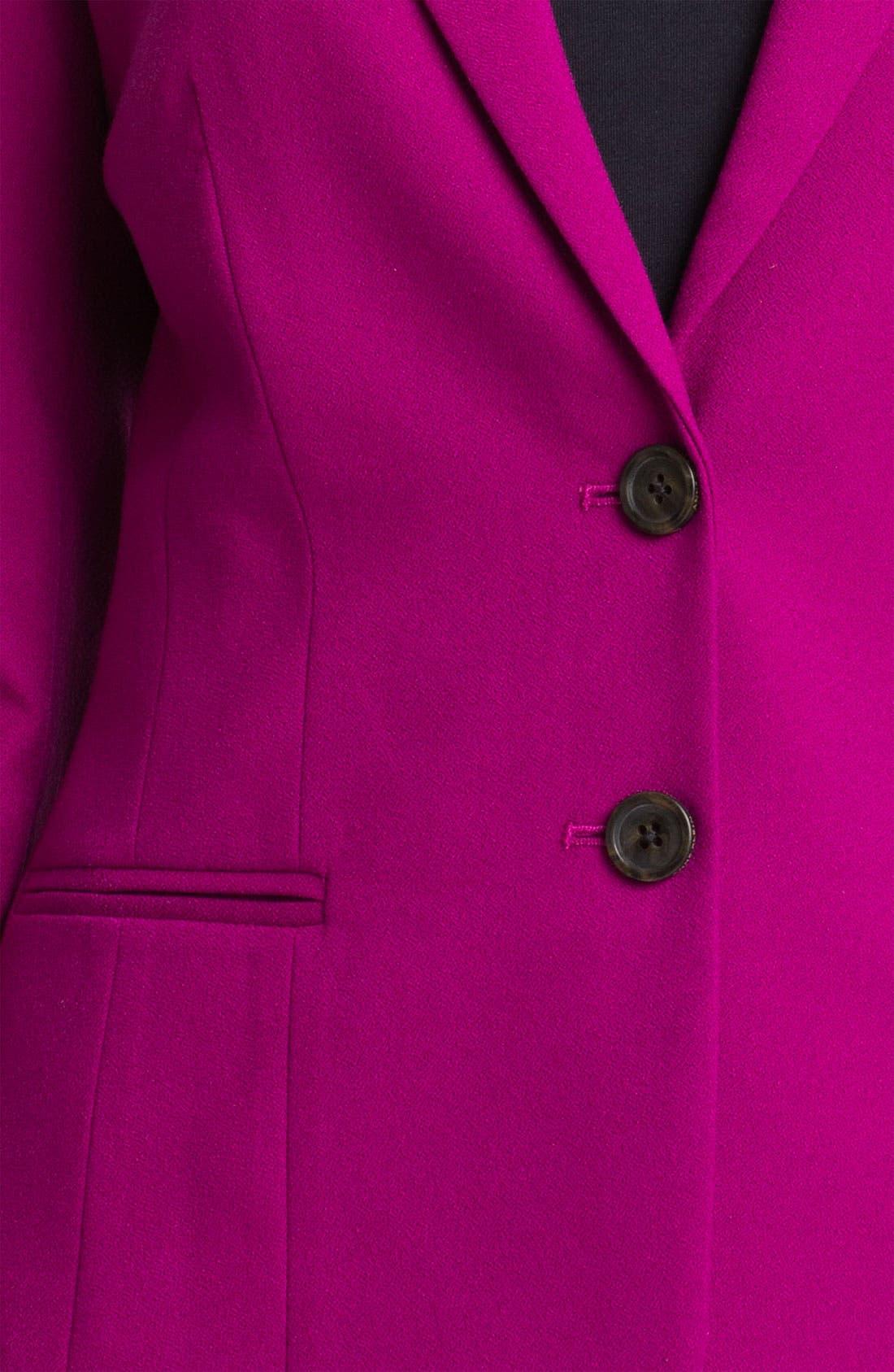 Alternate Image 3  - Anne Klein Two Button Blazer