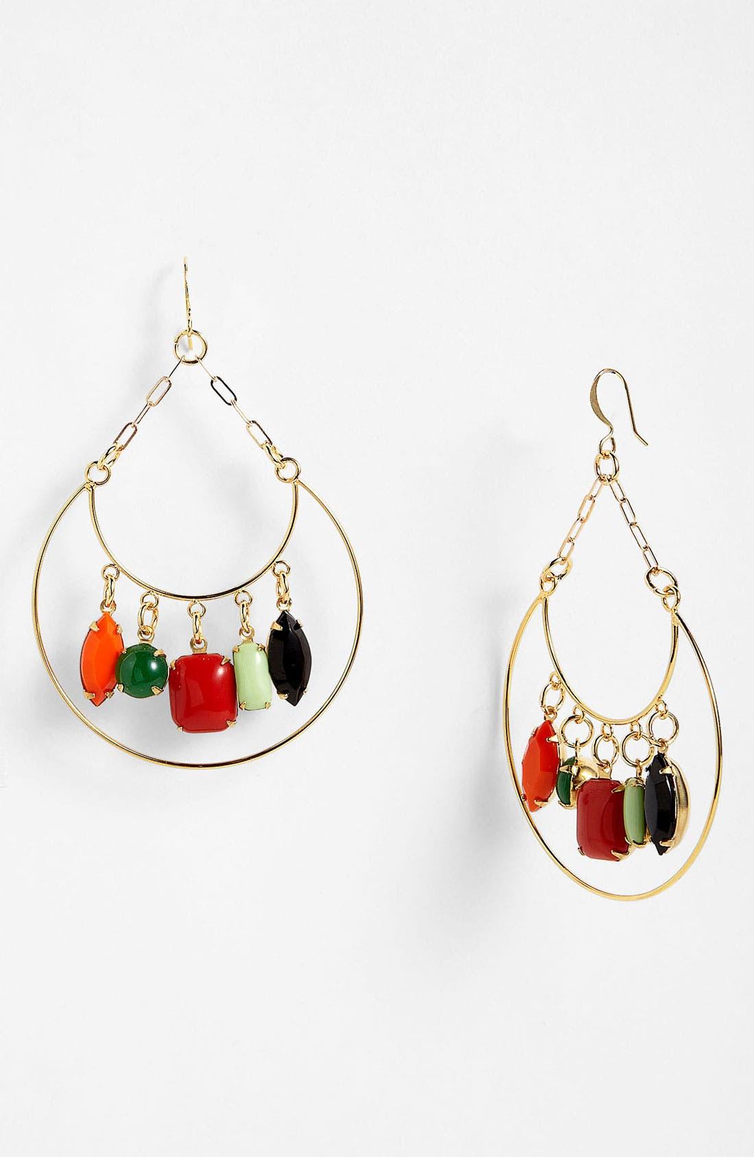 Main Image - Verdier Jewelry 'Multi Vintage Glass' Chandelier Earrings (Nordstrom Exclusive)