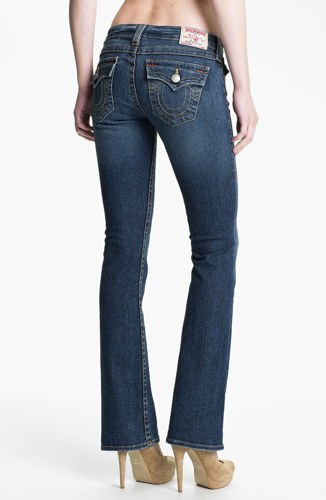 Alternate Image 2  - True Religion Brand Jeans 'Becky' Bootcut Jeans (Whiskey Blues)