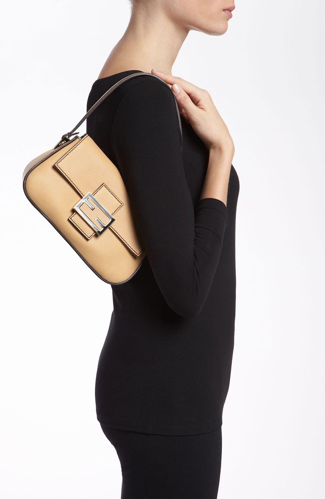 Alternate Image 2  - Fendi 'Mamma - Mini' Leather Shoulder Bag