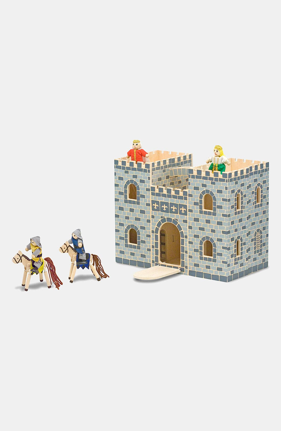 Alternate Image 1 Selected - Melissa & Doug Fold & Go Mini Castle