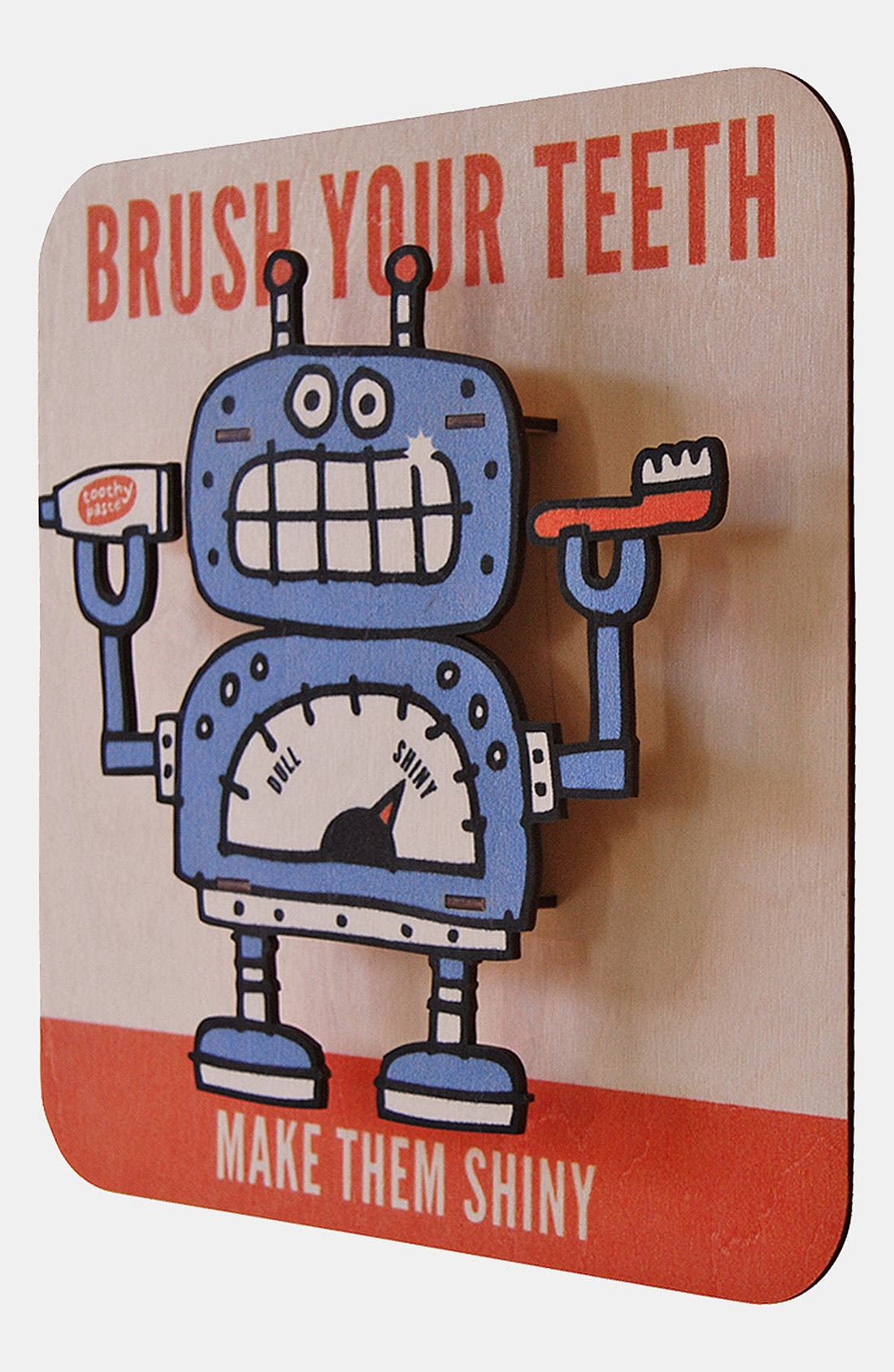 Alternate Image 2  - Modern Moose 'Brushbot' Wall Art