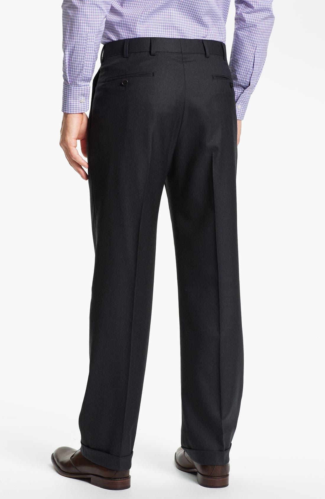 Alternate Image 5  - Brooks Brothers 'Madison' Wool Suit
