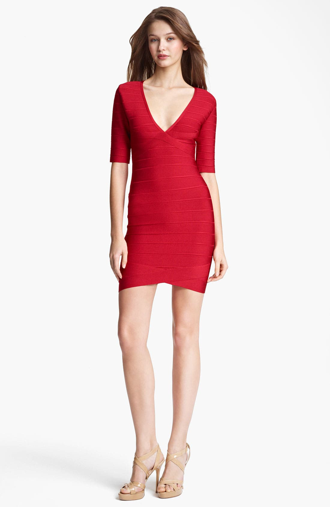 Alternate Image 1 Selected - Herve Leger Bandage Dress