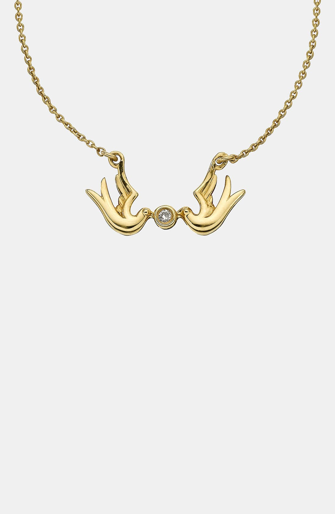 Alternate Image 1 Selected - Whitney Stern Double Dove Pendant Necklace