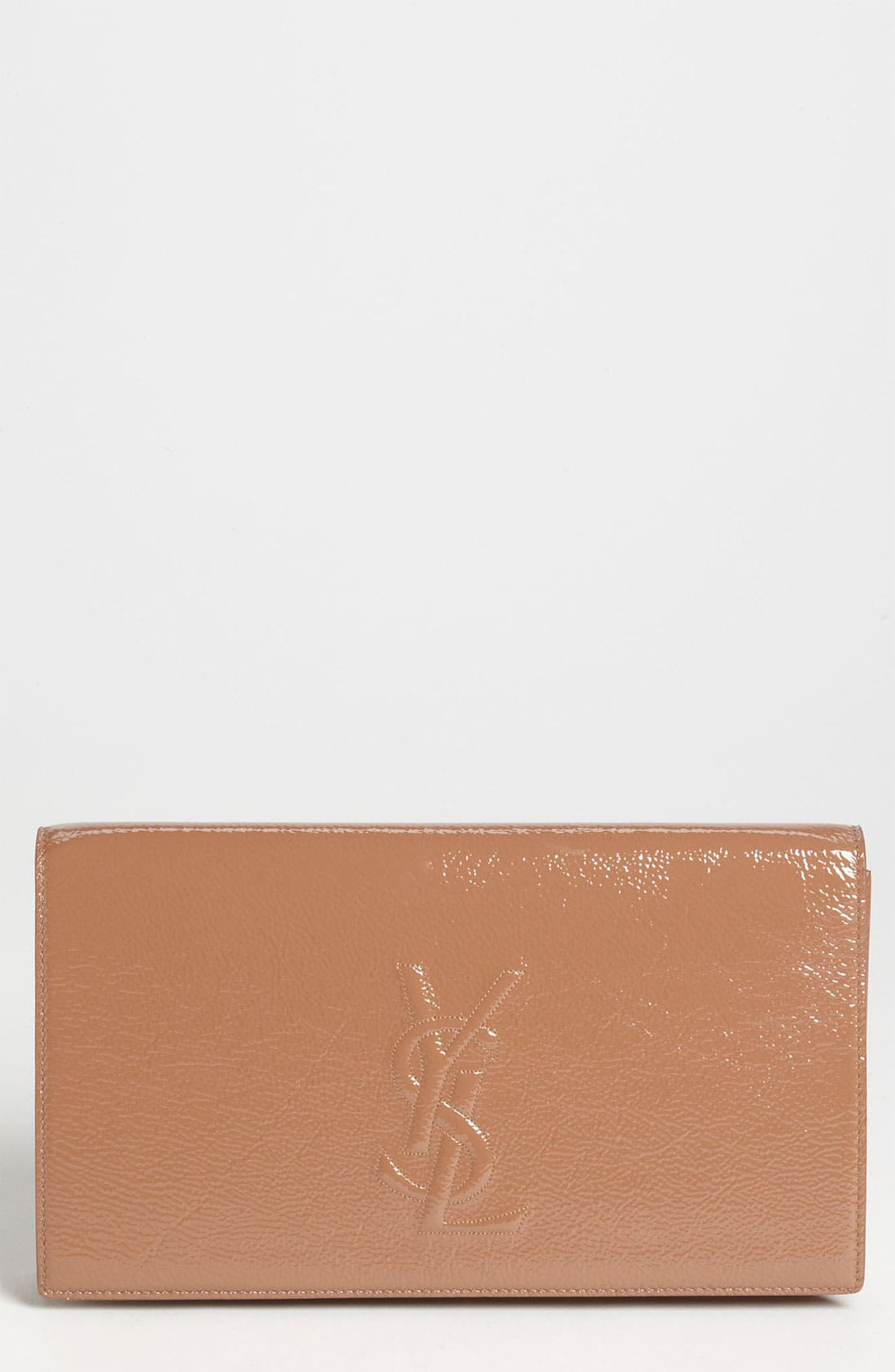 Alternate Image 1 Selected - Saint Laurent 'Belle de Jour' Patent Leather Clutch