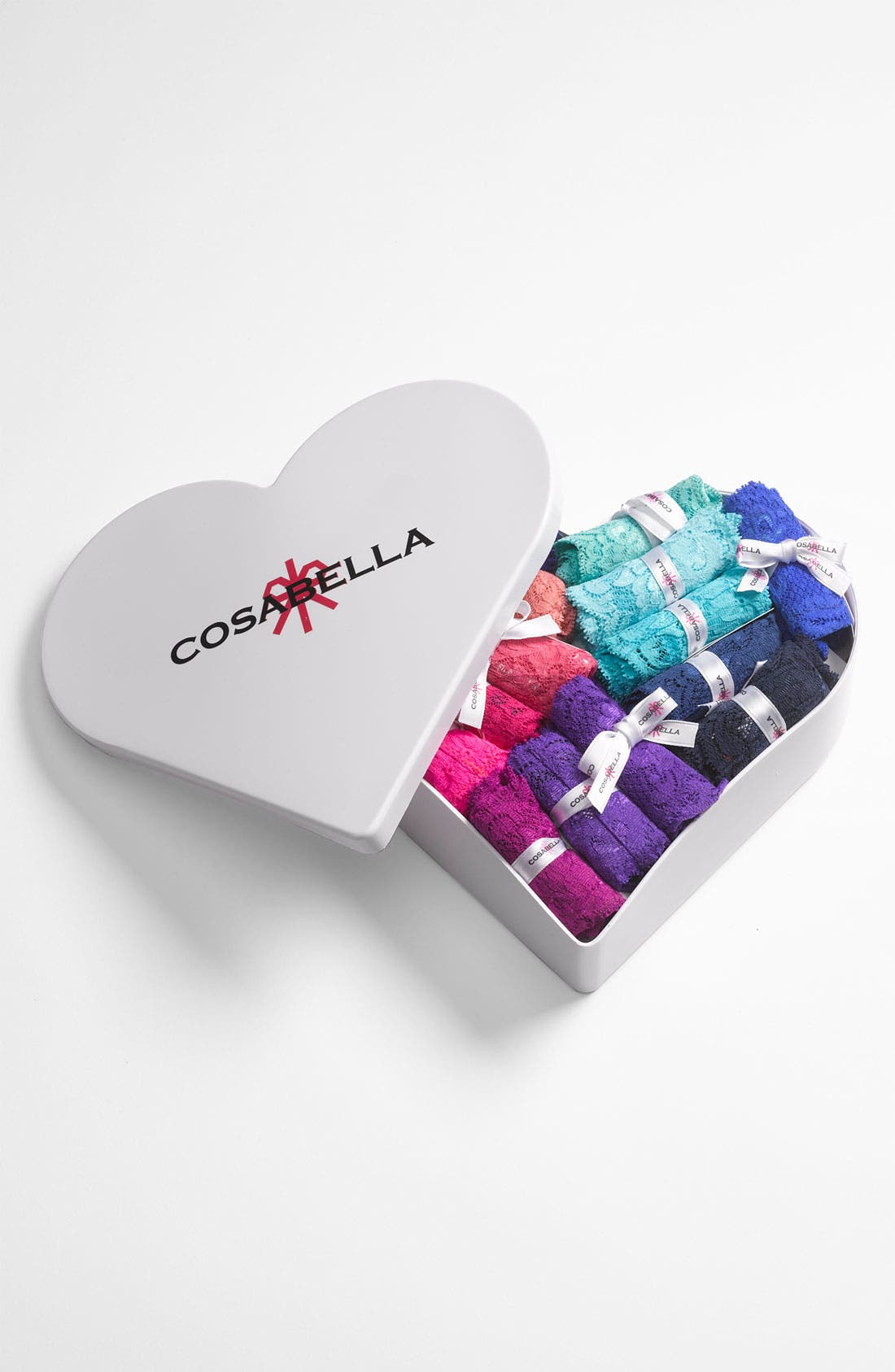 Alternate Image 1 Selected - Cosabella '30 Years of Color Cutie' Low Rise Thong (30-Pack) ($600 Value)