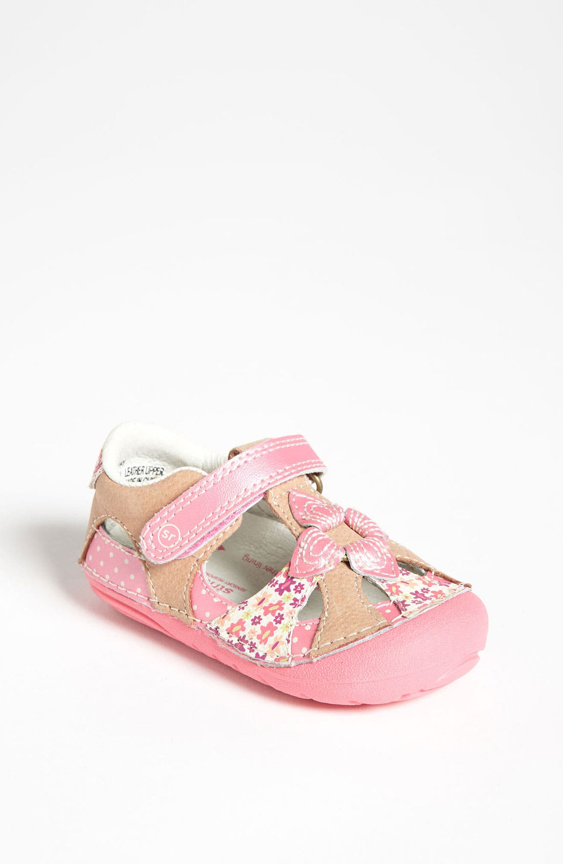 Main Image - Stride Rite 'Poppy' Mary Jane (Baby & Walker)