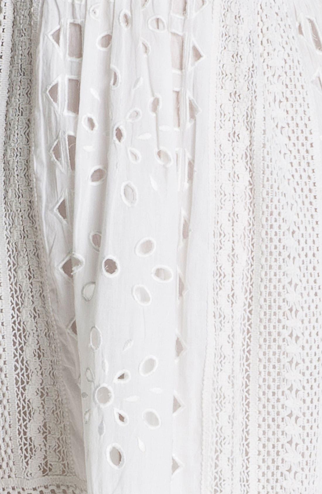 Alternate Image 3  - MICHAEL Michael Kors Eyelet Dress