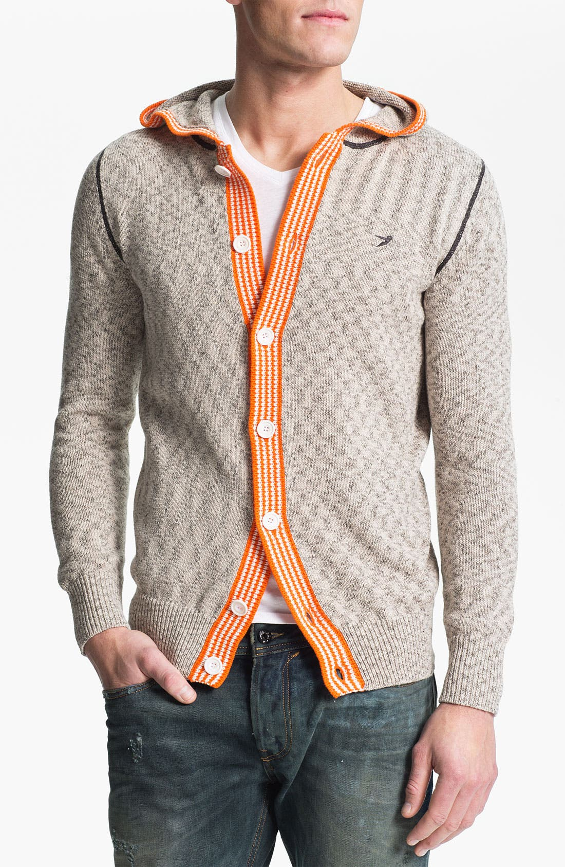 Alternate Image 1 Selected - 55DSL 'Kurtis' Hooded Sweater