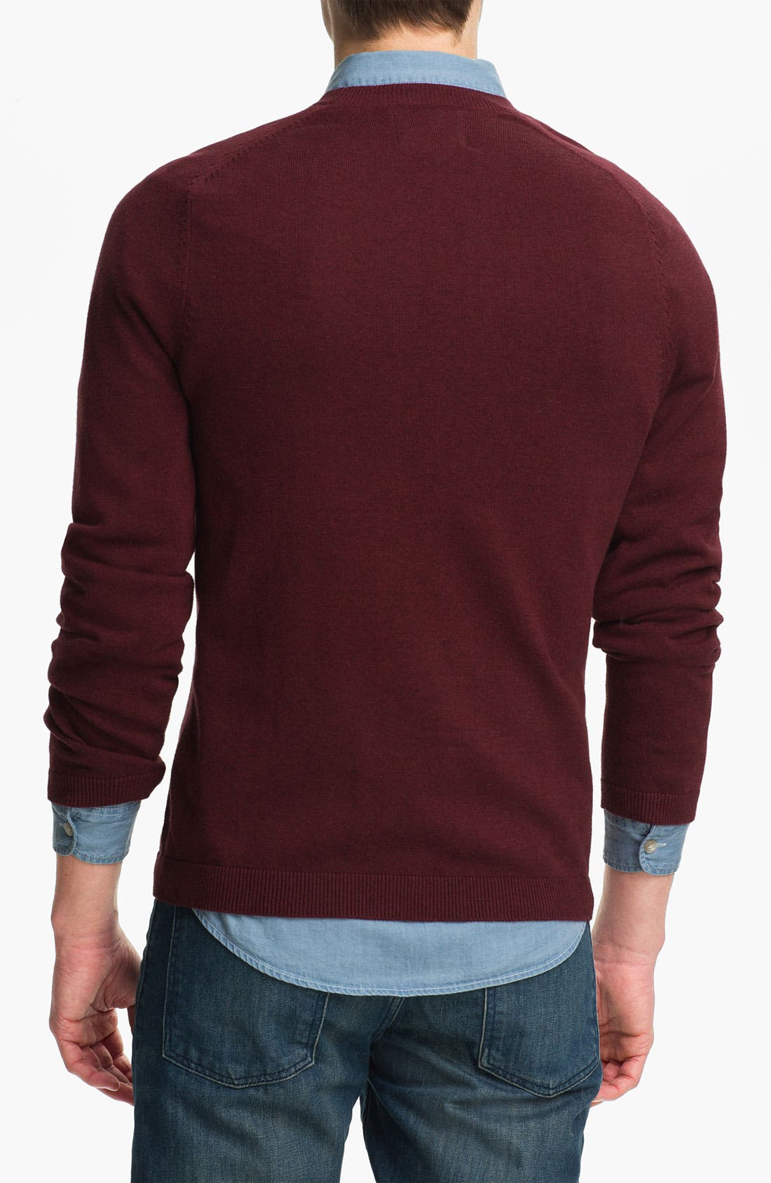 Alternate Image 2  - Topman Pocket Cardigan