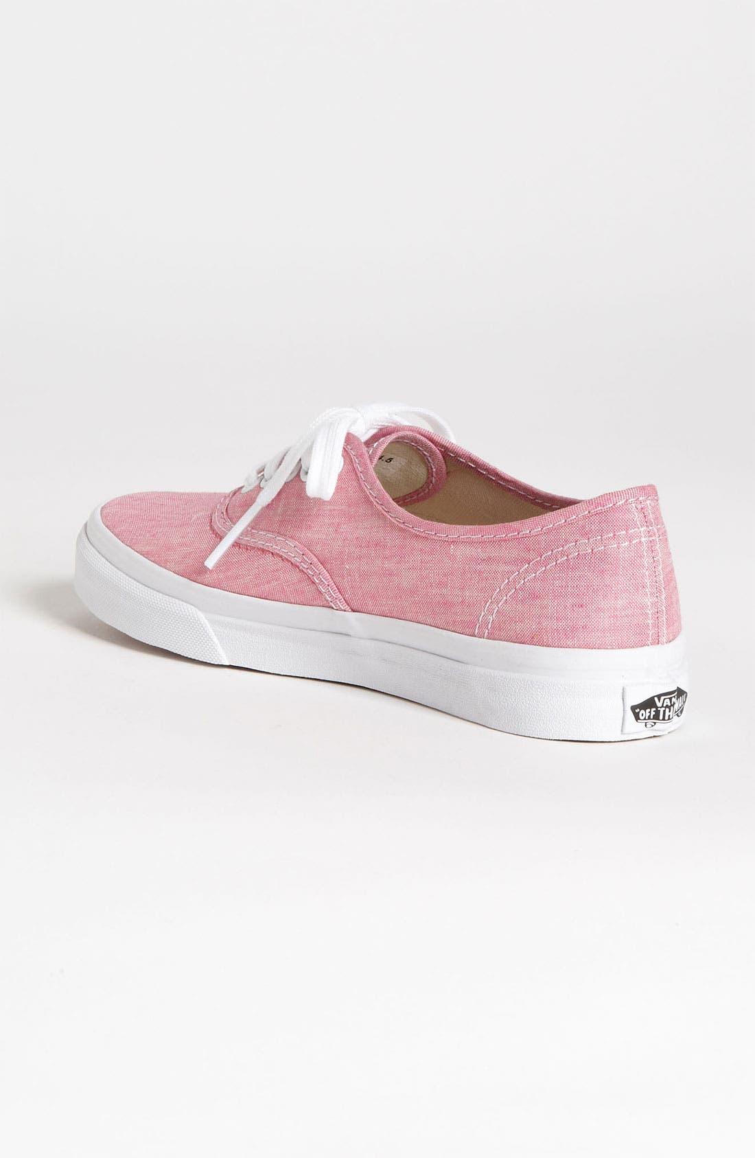 Alternate Image 2  - Vans 'Authentic Slim - Van Doren' Sneaker (Women)