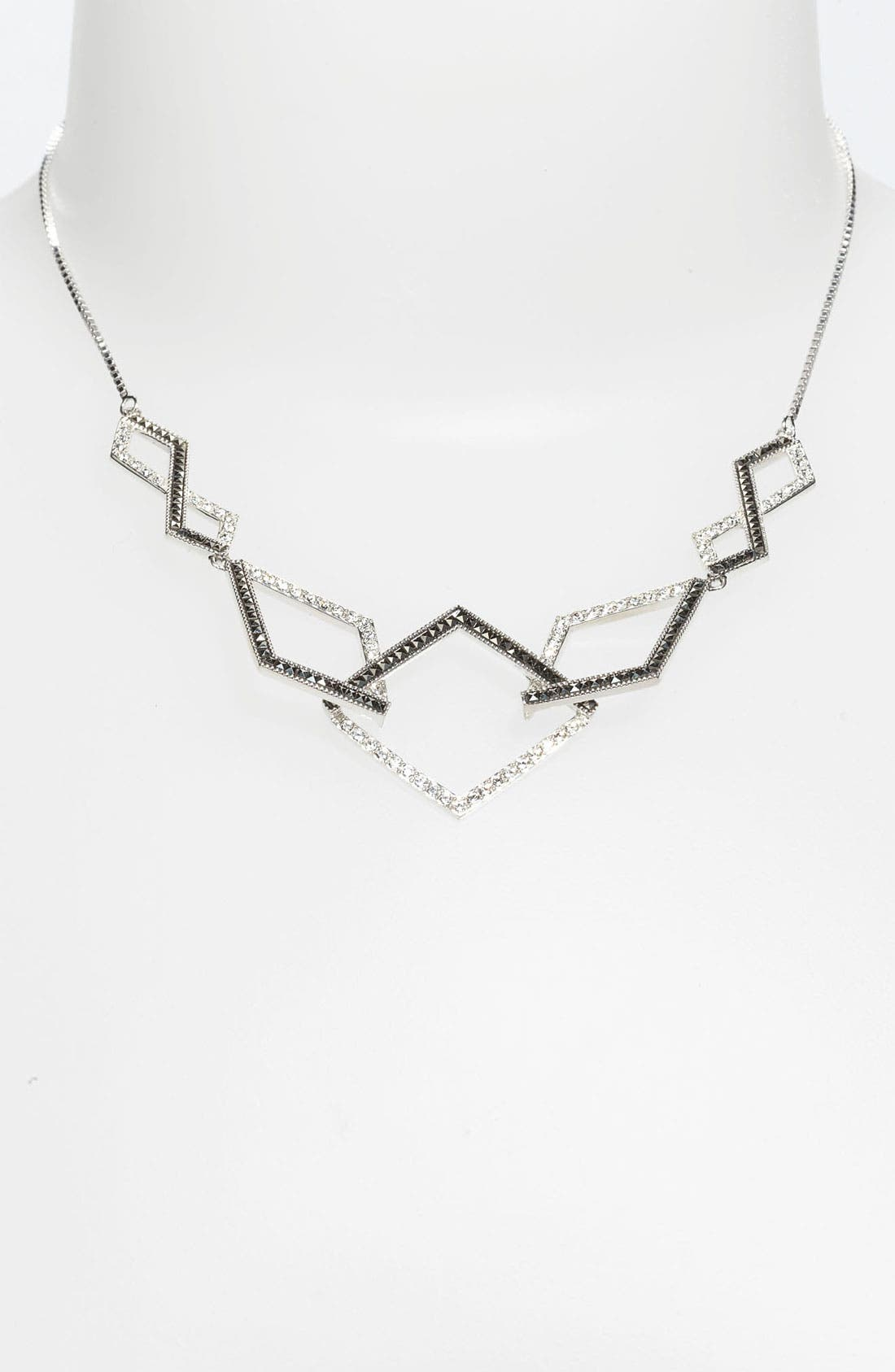 Main Image - Judith Jack 'Caged In' Frontal Necklace