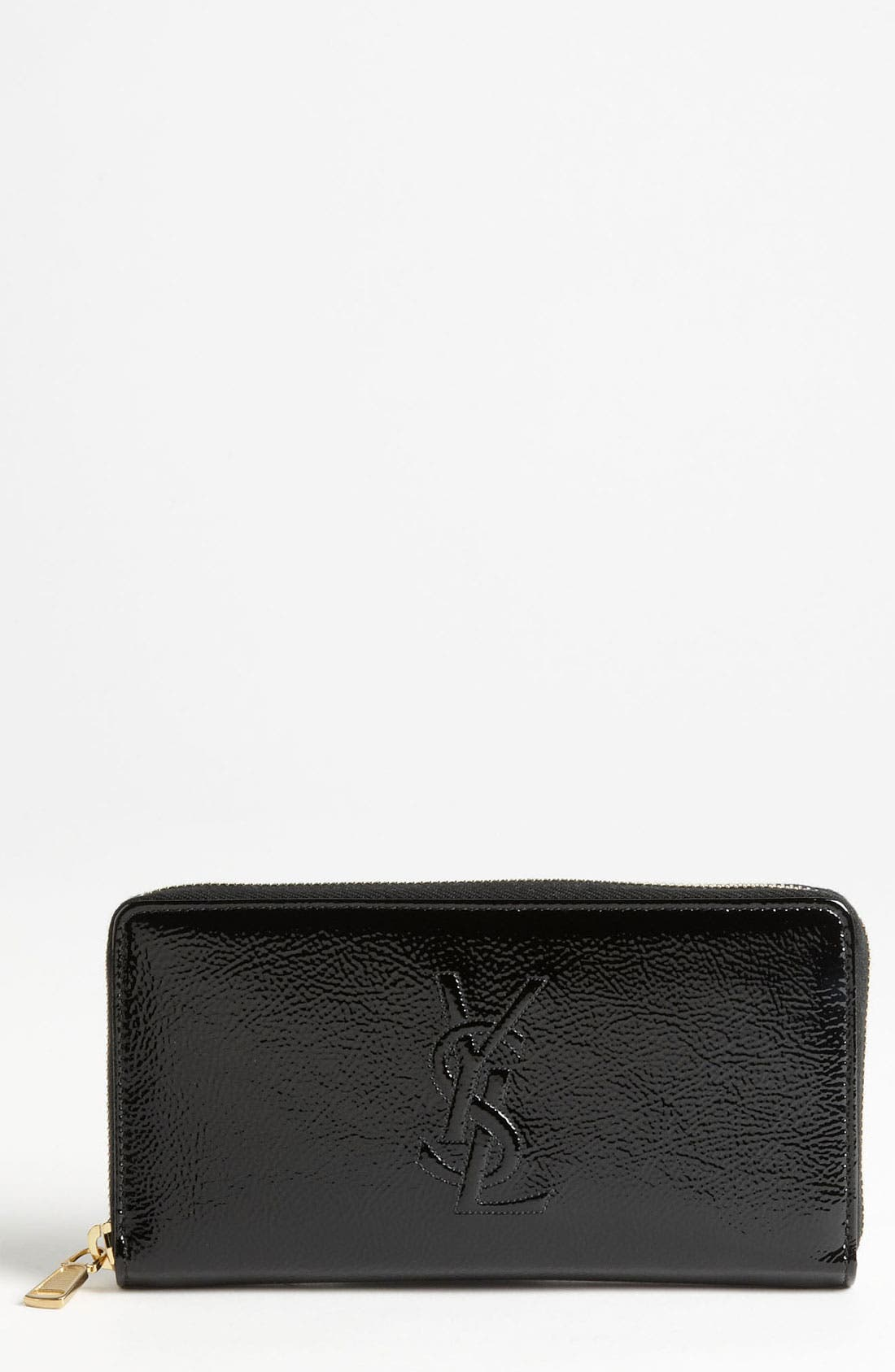 Alternate Image 1 Selected - Saint Laurent 'Belle de Jour' Leather Wallet