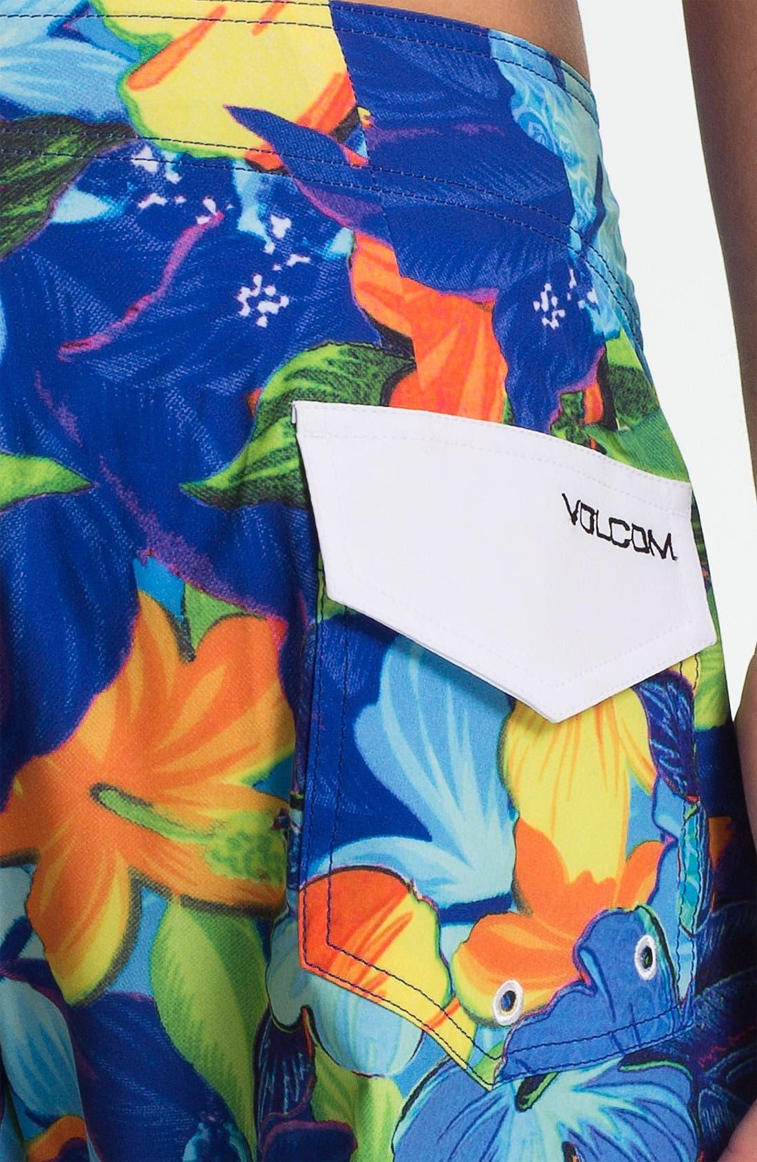 Alternate Image 3  - Volcom 'Floral Fun' Board Shorts
