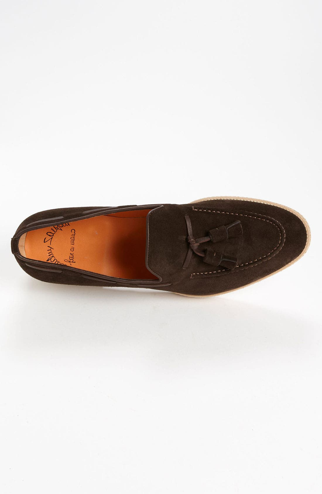 Alternate Image 3  - Santoni 'Terry' Tassel Loafer
