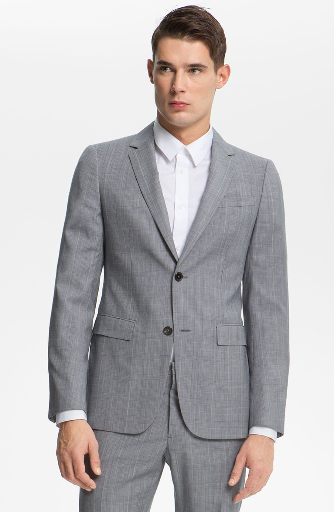 Alternate Image 1 Selected - Jil Sander Glen Plaid Suit