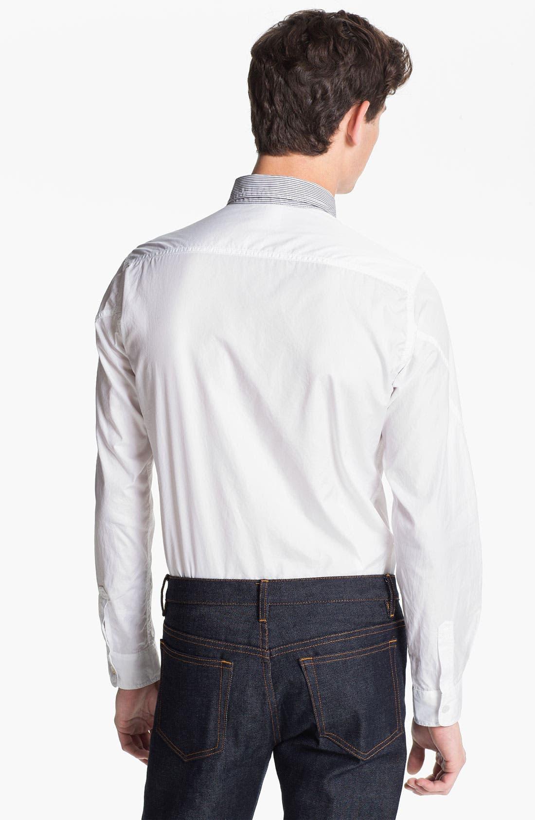 Alternate Image 2  - U Clothing 'Tate' Woven Shirt