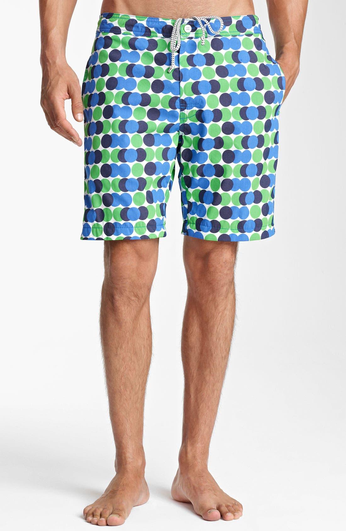 Main Image - Jack Spade 'Decker' Dot Board Shorts