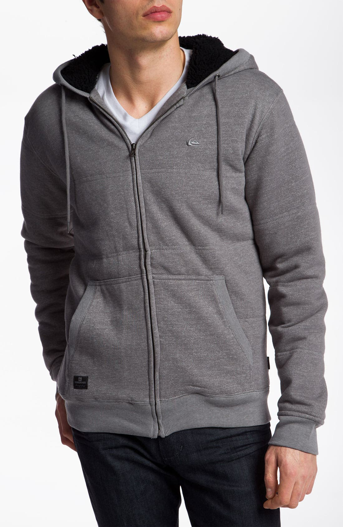 Alternate Image 1 Selected - Quiksilver 'Barkley' Zip Hoodie