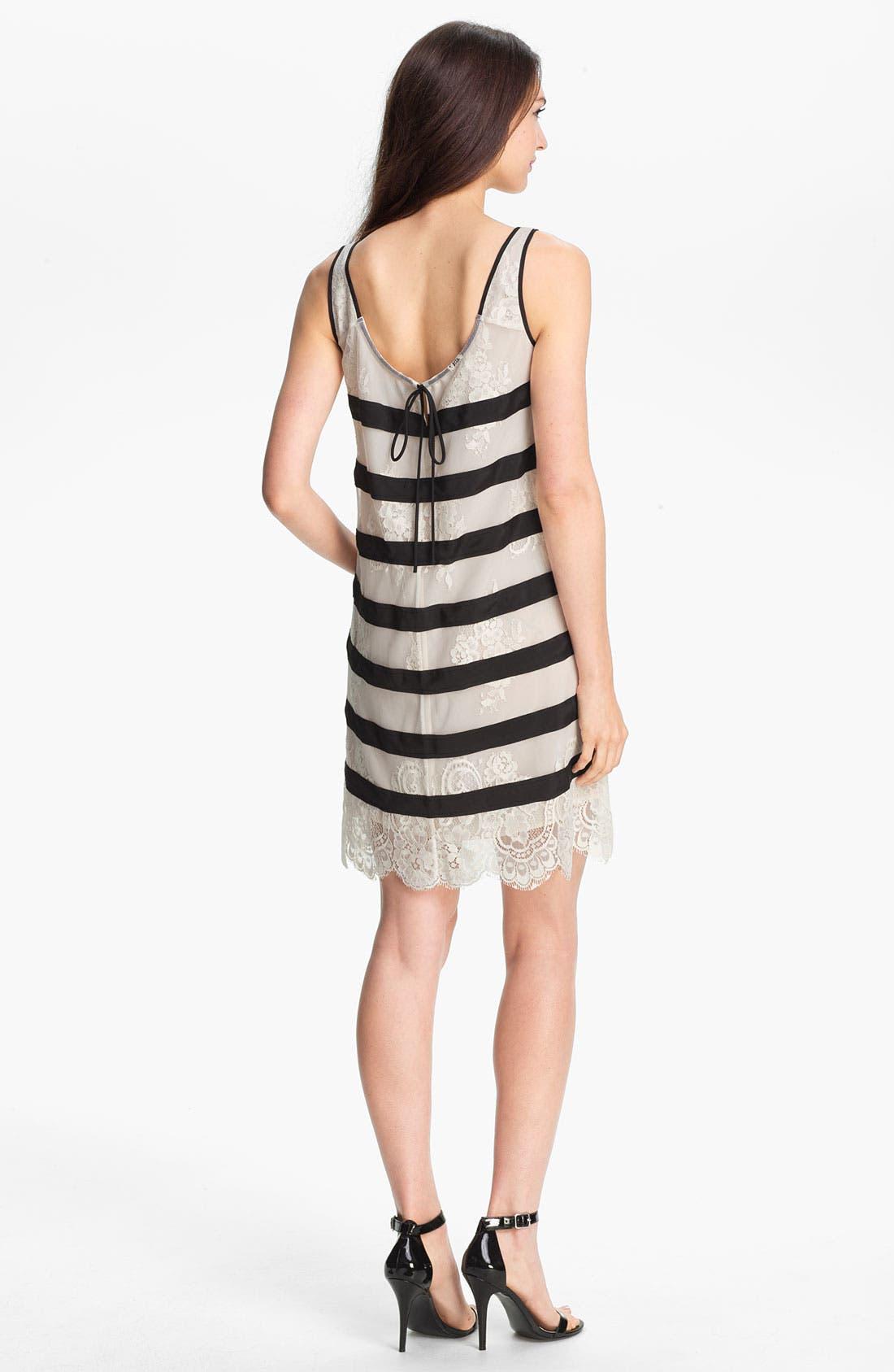 Alternate Image 2  - BCBGMAXAZRIA 'Augustin' Knit Trapeze Dress