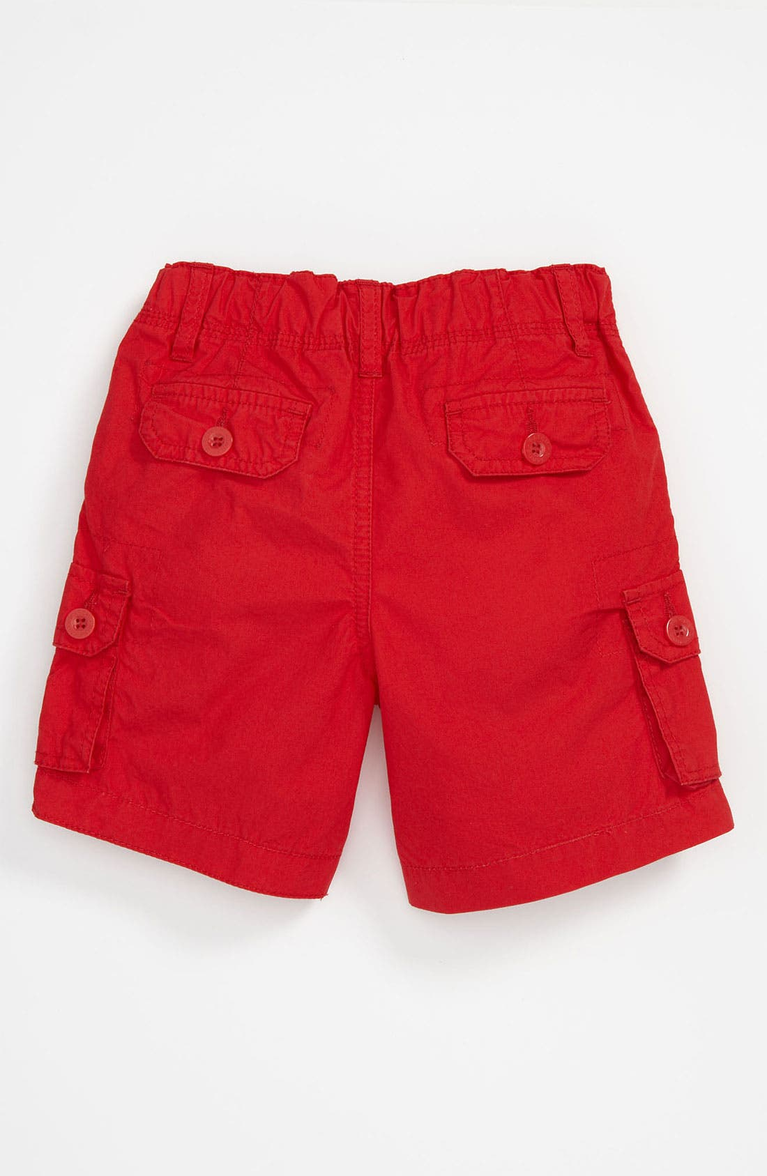 Alternate Image 2  - Pumpkin Patch Poplin Shorts (Infant)