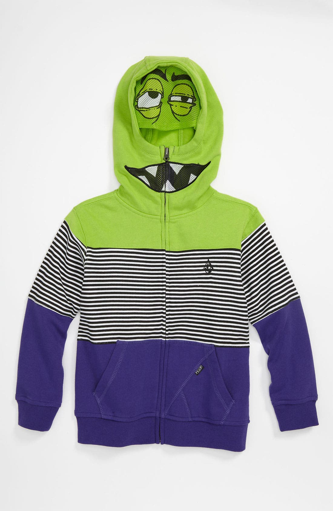 Main Image - Volcom 'Blakely' Zip Hoodie (Little Boys)
